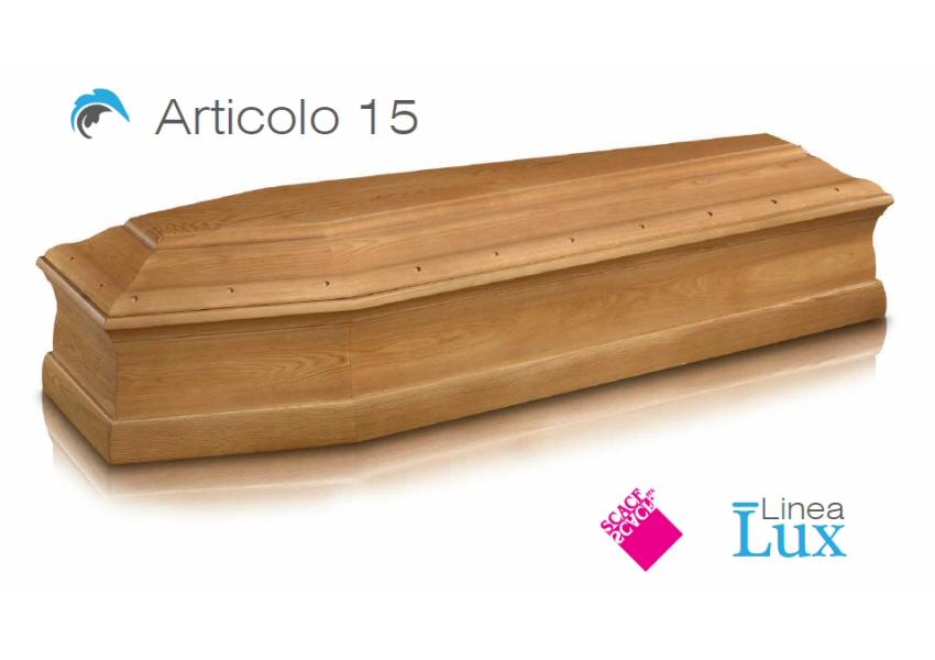Articolo 15 – Linea Lux