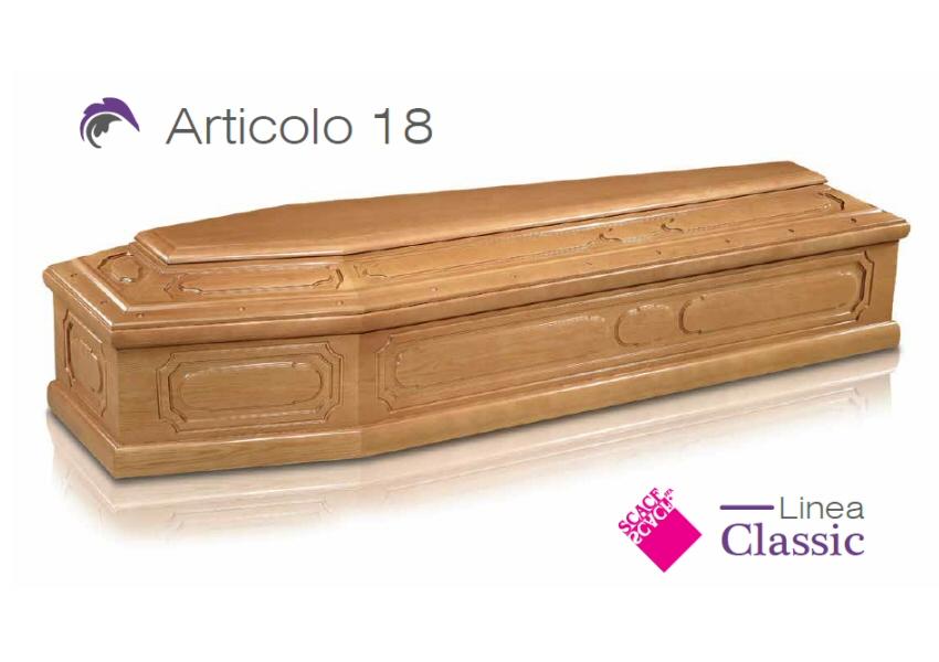 Articolo 18 – Linea Classic