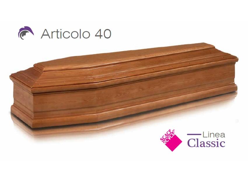 Articolo 40 – Linea Classic