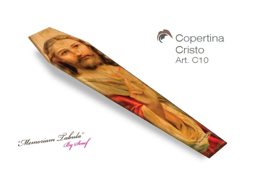 Articolo C10 – Copertina Stampata con Cristo
