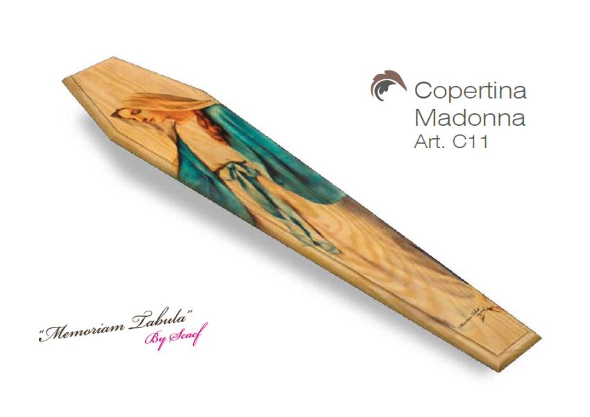 Articolo C11 – Copertina Stampata con Madonna