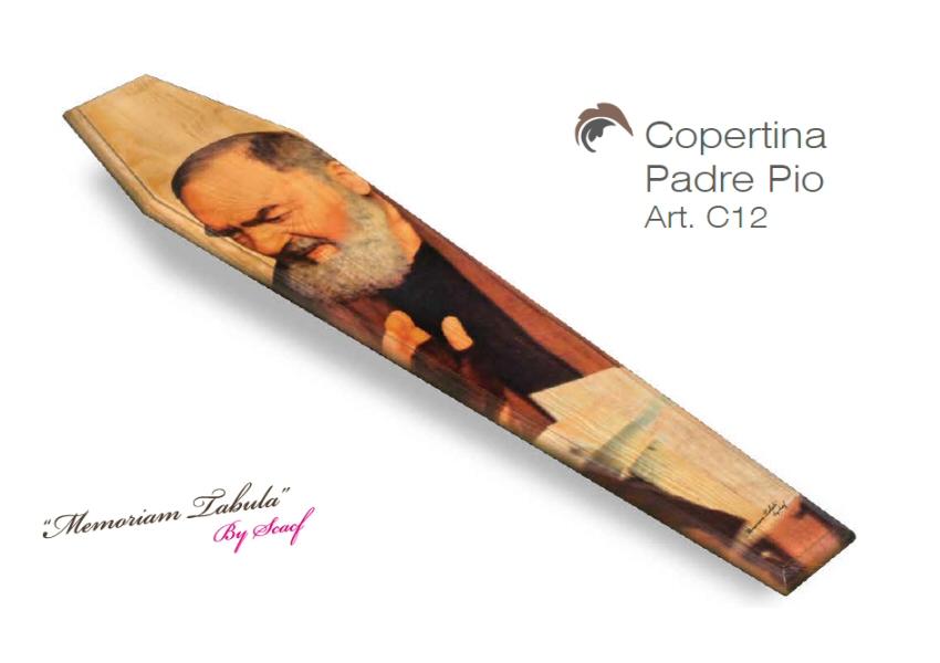 Articolo C12 – Copertina Stampata con Padre Pio