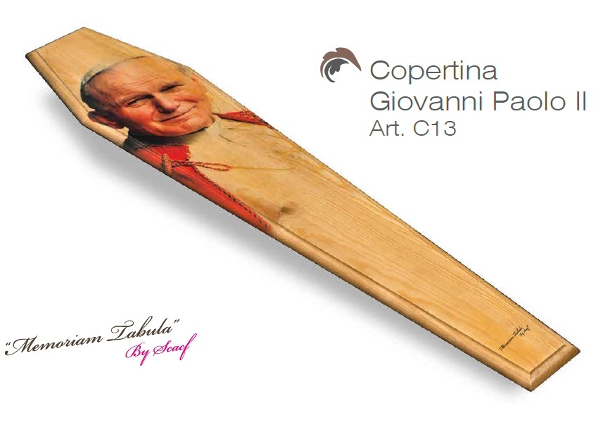 Articolo C13 – Copertina Stampata con Giovanni Paolo II