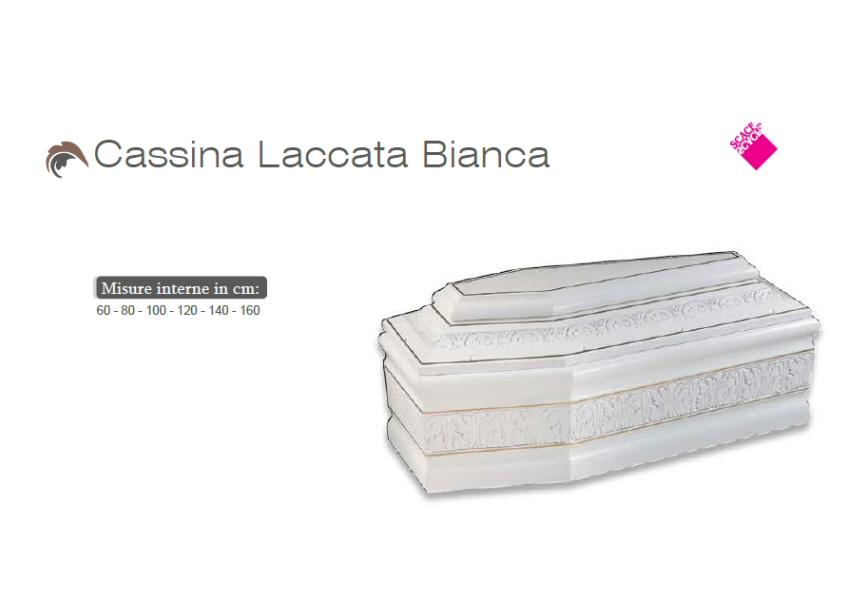 Cassina laccata bianca