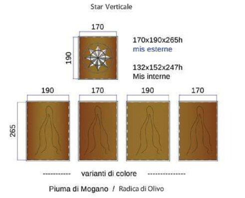 dimensioni Star Verticale