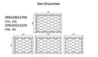 dimensioni modern Geo