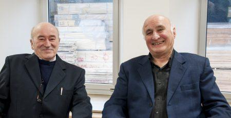 Renato Sgoluppi e Armando Pecorari